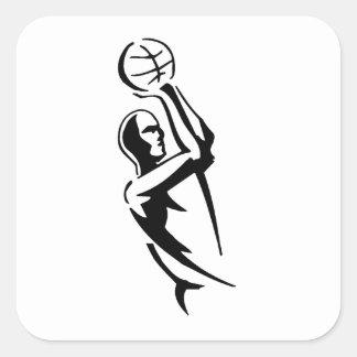 Basketball Fade Away Stickers