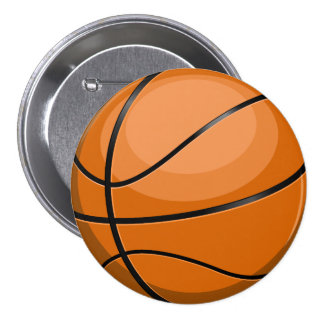 Basketball Fan 7.5 Cm Round Badge