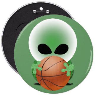 Basketball Fan 6 Cm Round Badge