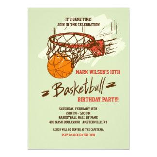Basketball Fan Invitation