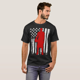 BASKETBALL FLAG AMERICAN T-Shirt