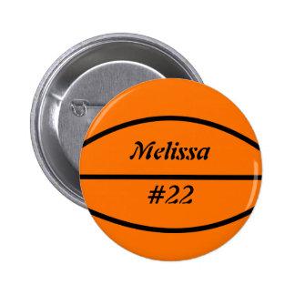 Basketball Flair Button