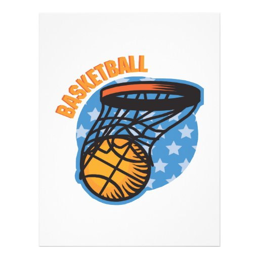 Basketball Full Color Flyer