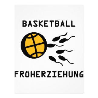 Basketball Früherziehung icon Full Color Flyer