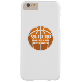 Basketball Game Funny Cool  Gift Barely There iPhone 6 Plus Case