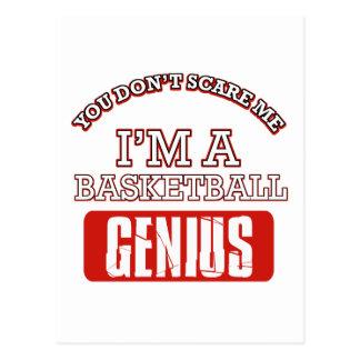 basketball genius post cards
