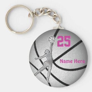 Basketball Gifts for Girls Team PERSONALIZED Key Ring