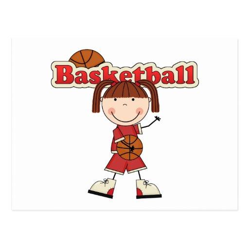 Basketball Girl Postcards