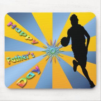 Basketball - Happy Father's Day Mousepad