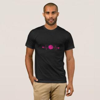 Basketball Heartbeat T-Shirt