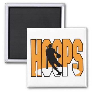 basketball hoops design magnet
