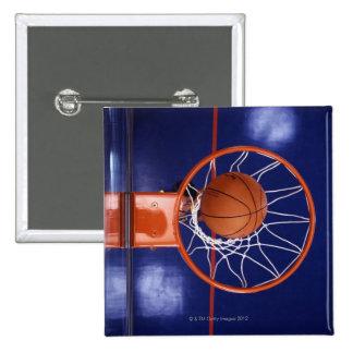 basketball in hoop buttons