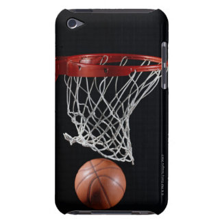 Basketball in Hoop Barely There iPod Cases