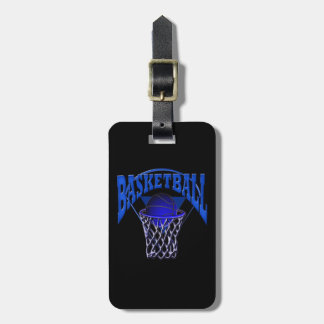 Basketball in the Net Luggage Tag