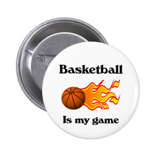 Basketball Is My Game Button