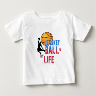 Basketball is my life baby T-Shirt