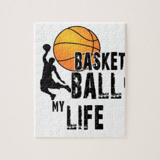 Basketball is my life jigsaw puzzle