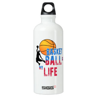 Basketball is my life water bottle