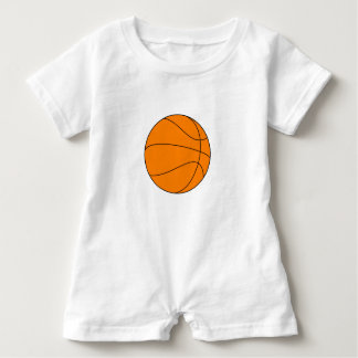 Basketball Jersey Romper Baby Bodysuit