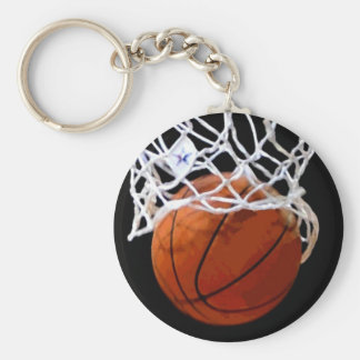 Basketball Keychain - Unique Modern Stylish Art