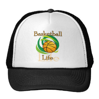 Basketball Life T-shirts and Gifts Cap