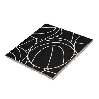 Basketball lines ceramic tile