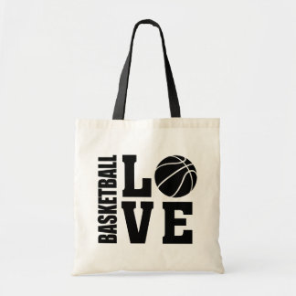 Basketball Love, Basketball Tote Bag