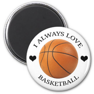 basketball love sport passion magnet