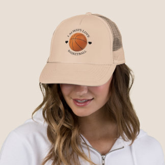 basketball love sport passion trucker hat