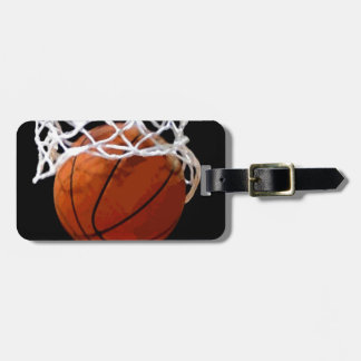 Basketball Luggage Tag - Bag Tag