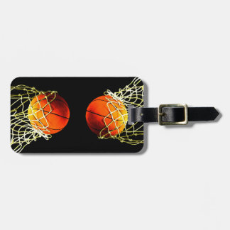 Basketball Luggage Tags
