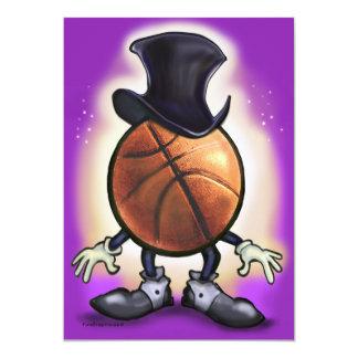 Basketball Magician 13 Cm X 18 Cm Invitation Card