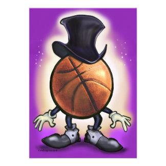 Basketball Magician Custom Announcement