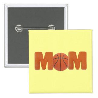 Basketball Mom Buttons