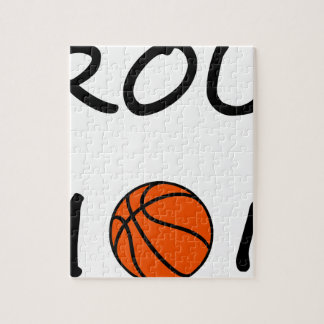 Basketball mom jigsaw puzzle
