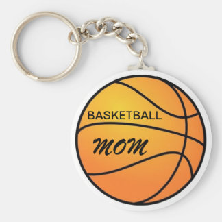 Basketball Mom Key Ring