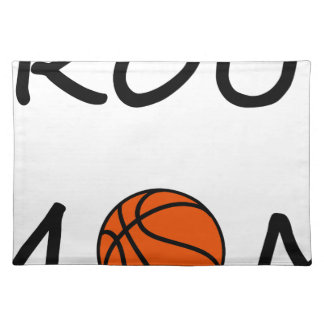 Basketball mom placemat