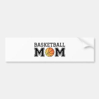 Basketball mom, text design for t-shirt, shirt bumper sticker