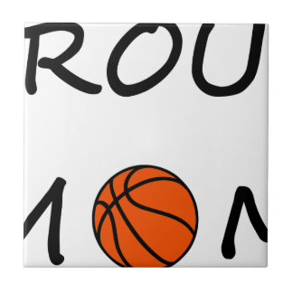 Basketball mom tile