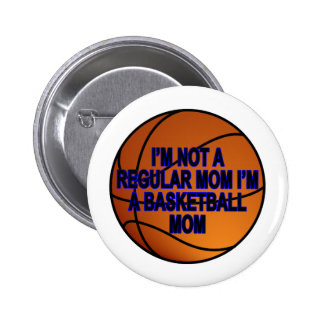 Basketball Moms T Shirts.png 6 Cm Round Badge