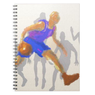 Basketball Moves Art Notebooks