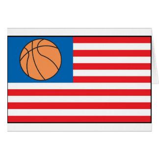 Basketball Nation Greeting Card
