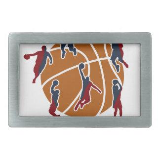 Basketball never stops belt buckles
