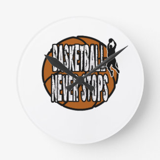 Basketball never stops clock