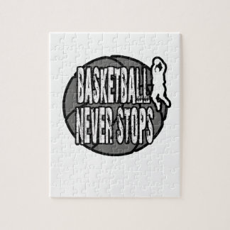 Basketball never stops jigsaw puzzle
