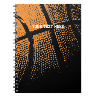 Basketball notebook | Custom school supplies
