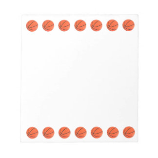 Basketball Notepad