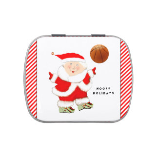 Basketball Novelty Gift Jelly Belly Candy Tin