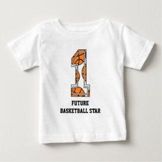 Basketball Number 1 Future Basketball Star Baby T-Shirt