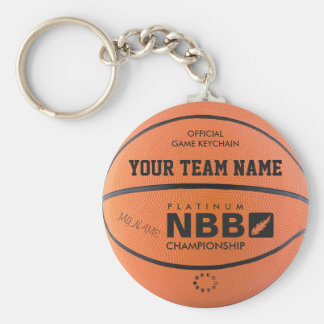 BASKETBALL OFFICIAL GAME KEYCHAIN Original bl